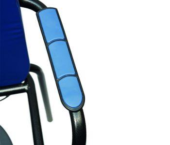 H523-1 Herdegen toiletstoel blauw